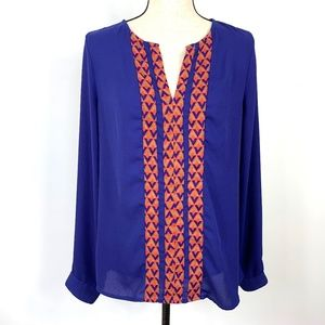 41 Hawthorn Stitch Fix Med Pull-Over Blouse